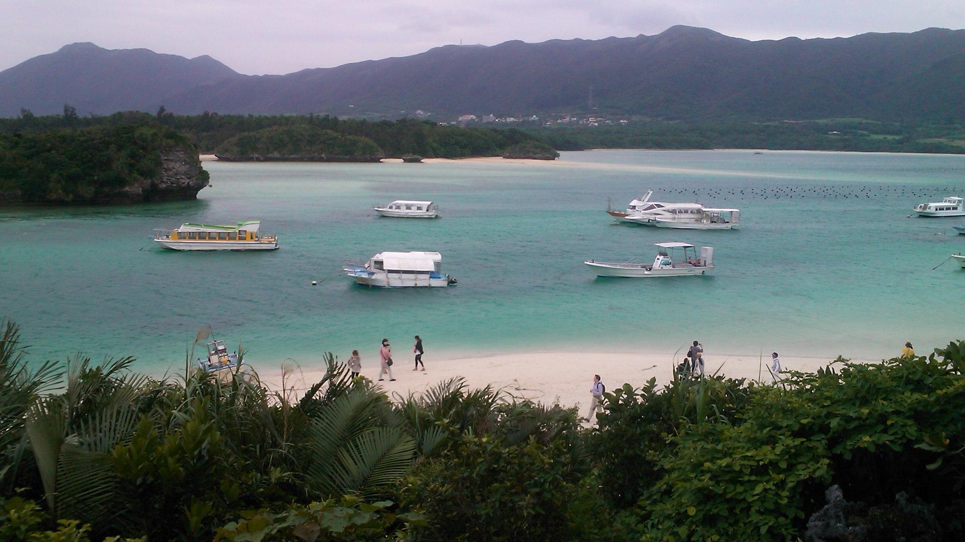 石垣島と竹富島